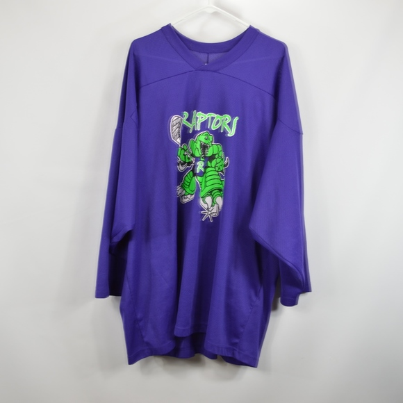 pretty nice 2bb8a 76e78 Vintage CCM Mens 2XL Raptors Hockey Jersey Purple